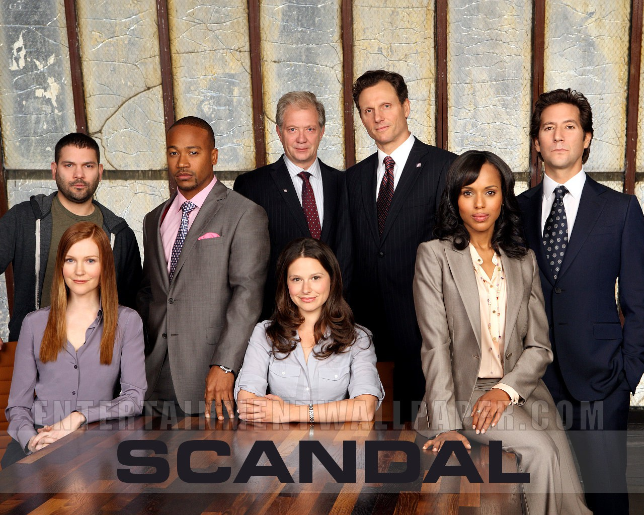 Scandal (almost 2 full seasons)
