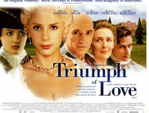 Films about royalty - The Triumph of Love 2001